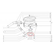 Joint de filtre a air monopoint