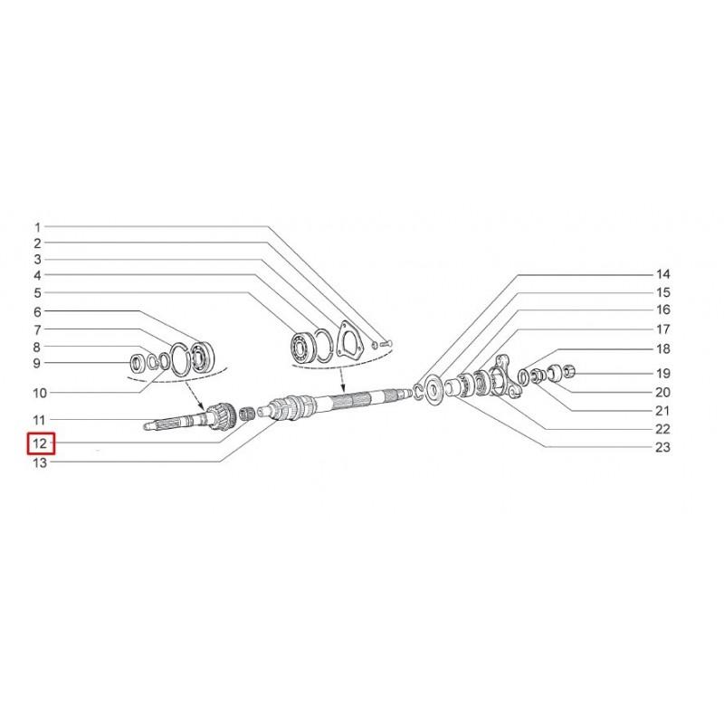 kit roulement boite de vitesse 5 vitesses abtoba3 niva 4x4. Black Bedroom Furniture Sets. Home Design Ideas