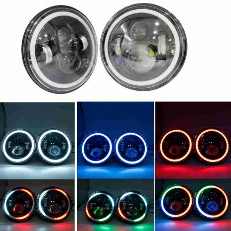 "Globe optique LED 40W 7"" RGB"
