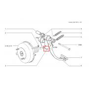 Axe de poussoir pedale de frein