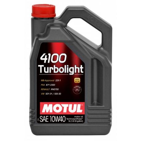 Motul 4100 Turbolight 10W-40 (5L)