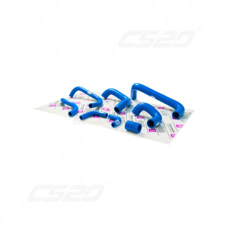Kit durite complet Lada Niva 1600 bleu en silicone