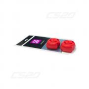 Silent bloc echappement 1700 polyurethane rouge (x2)