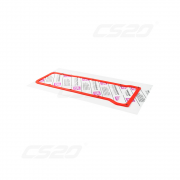 Joint couvre culasse (cache culbuteur) silicone rouge