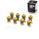 Kit Silent Bloc Triangle Superieur Inférieur polyurethane jaune
