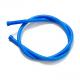 Tuyau de dépression silicone bleu