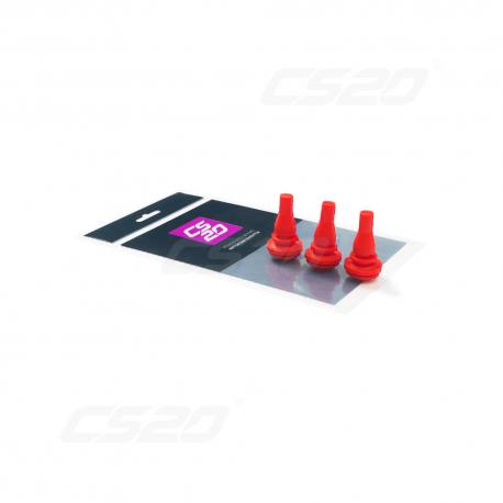 Butee filtre a air polyeuréthane rouge 1700 x3