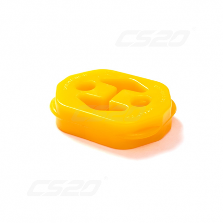 Silenct bloc echappement polyuréthane jaune