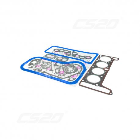 Pochette joint moteur (76mm) silicone bleu