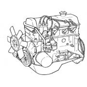 Moteur 1600 à Carburateur