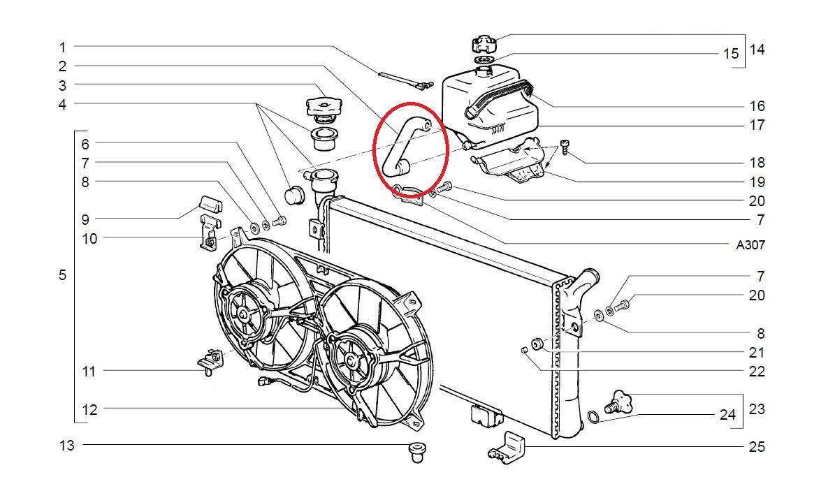 flexible de raccordement lada niva 4x4. Black Bedroom Furniture Sets. Home Design Ideas
